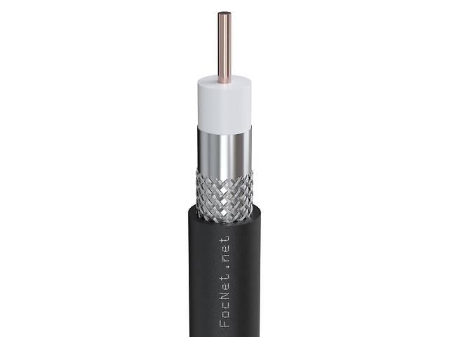 Кабель коаксиальный RG-59U IT cable, 75 Ом, CU, черный (250м)