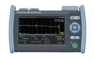 Рефлектометр оптический Yokogawa AQ1000-UFC 1310/1550, 32/30дБ, PC, SLS, TS, FC адапт.