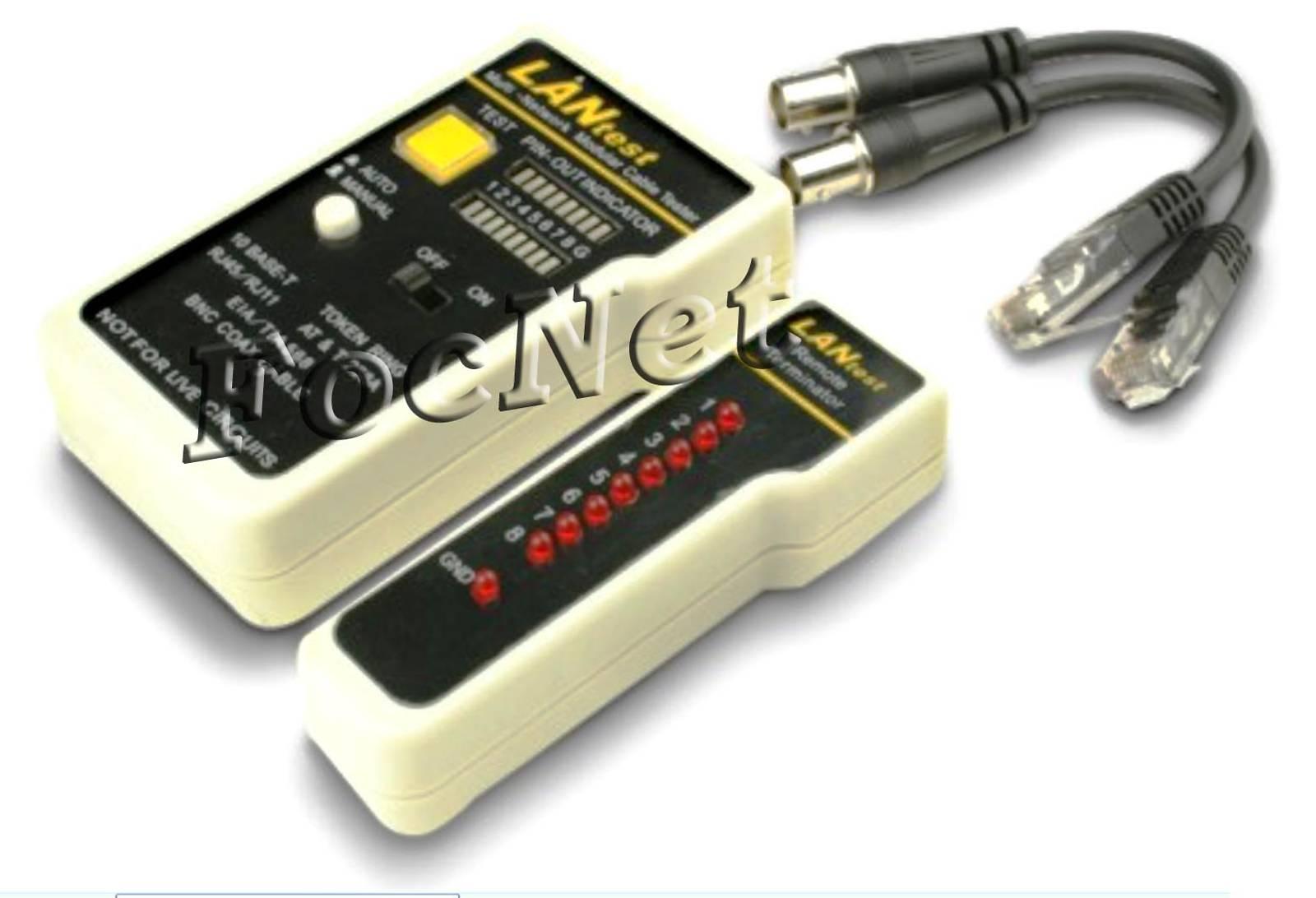 Тестер кабеля G288 FocNet