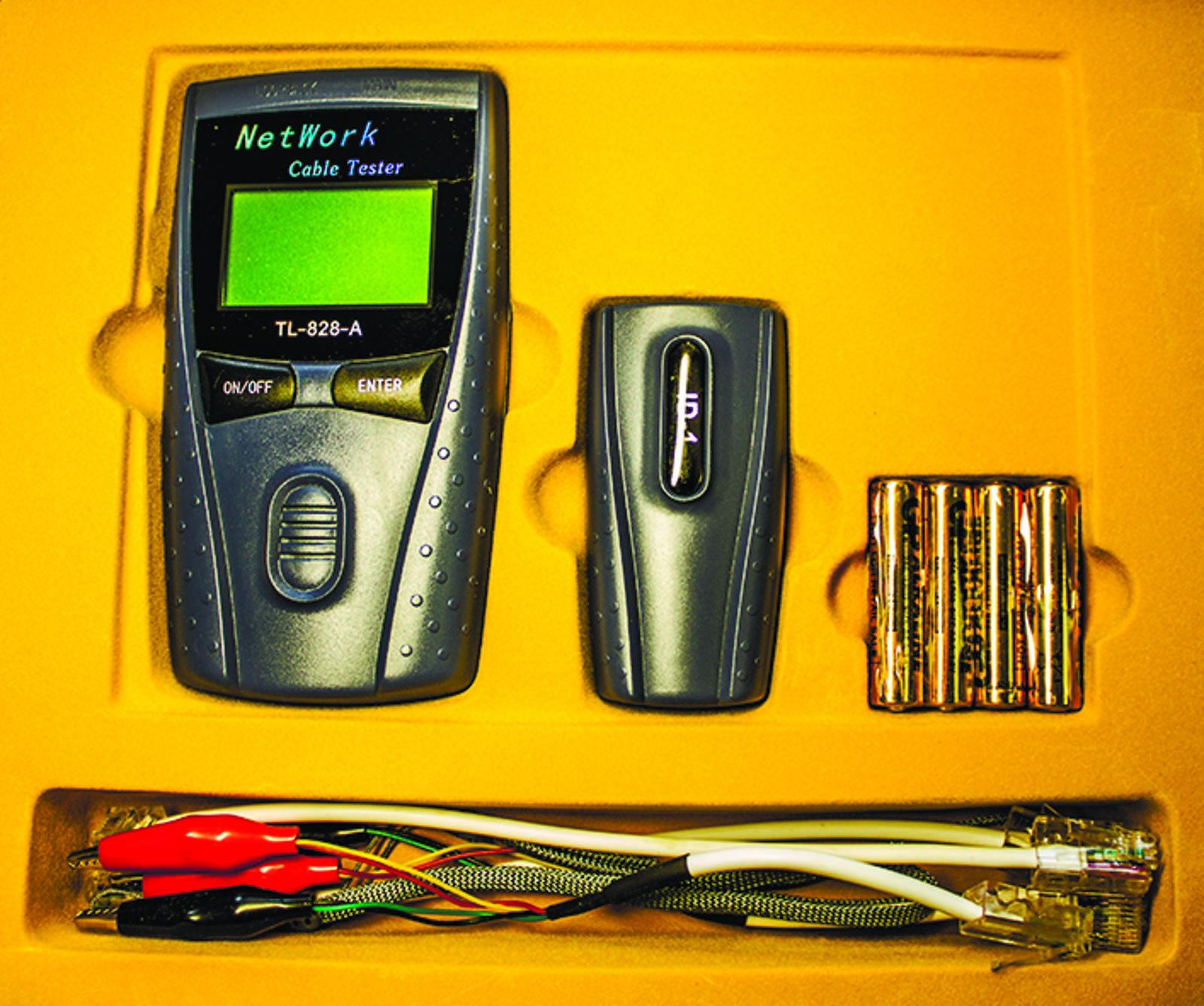 Тестер кабеля HT-C008 FocNet