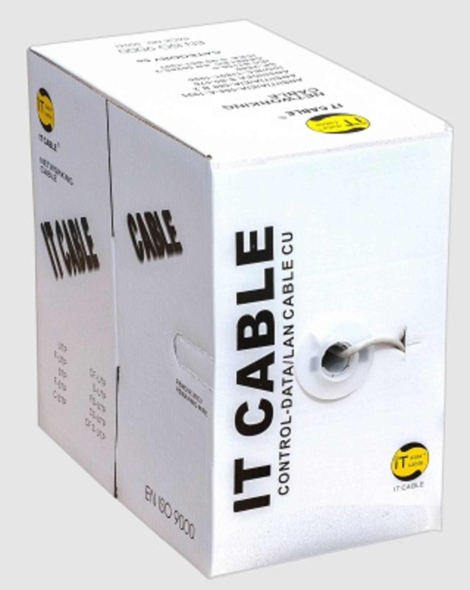 Кабель Витая пара UTP 4x2x0,5 IT Cable (305 м) внутр. ССА, CAT 5e