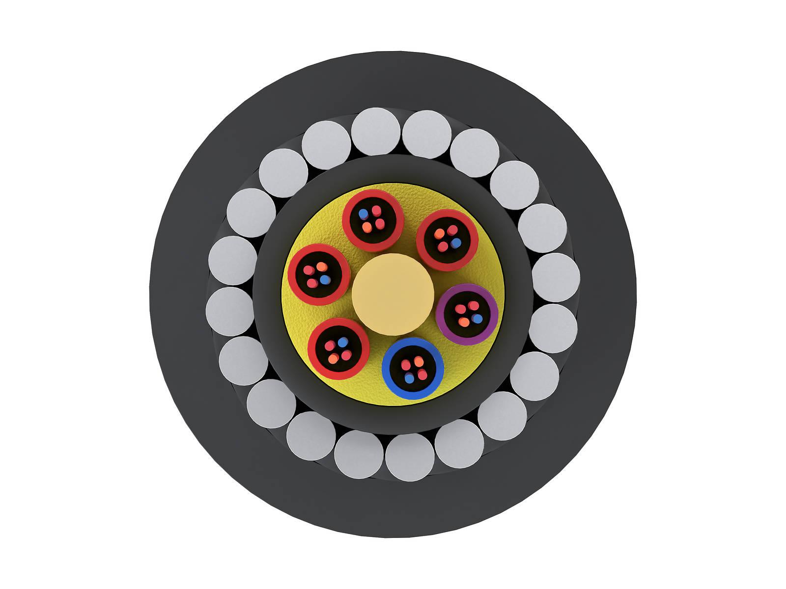 Кабель волоконно-оптический марки ОГД