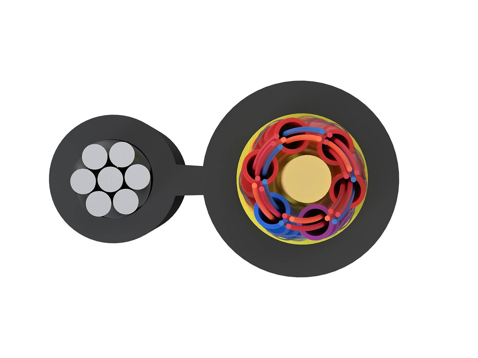 Кабель волоконно-оптический марки ОПД