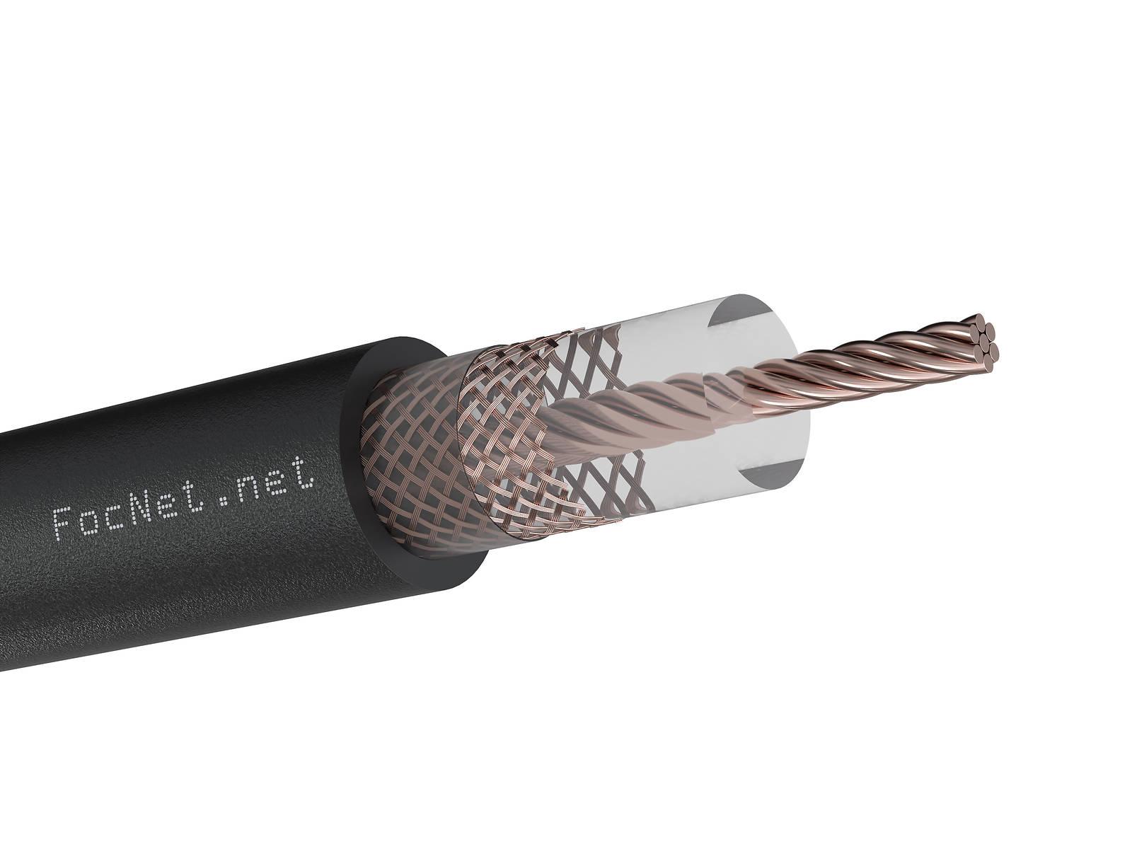 Коаксиальный кабель RG-213U IT cable, Cu, наружный