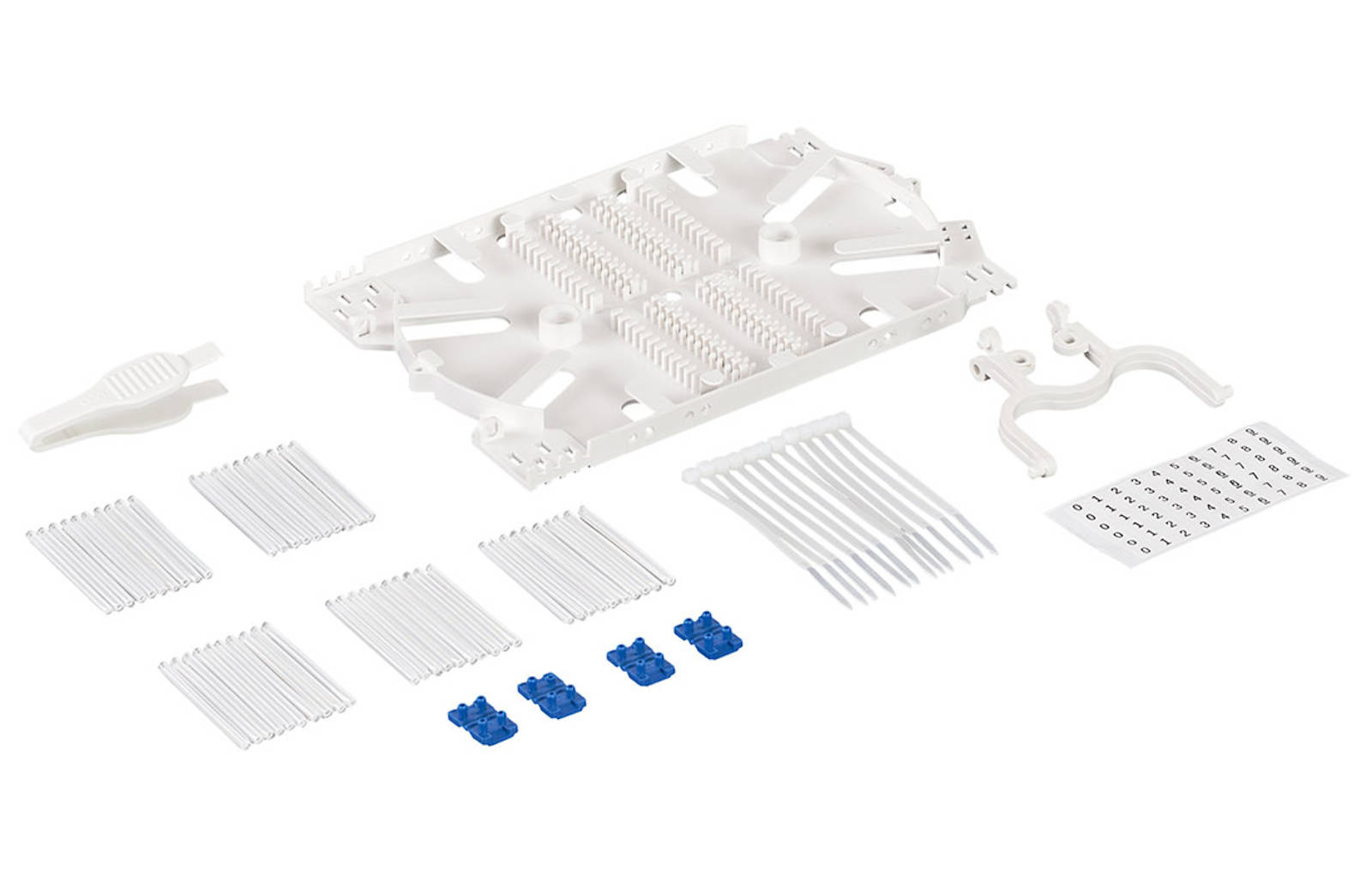 Комплект кассеты КД-4845 (стяжки, маркеры, КДЗС-50 шт.)